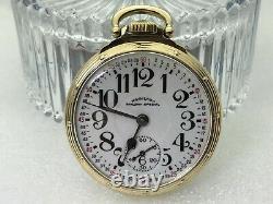 Excellent Hamilton 992B Railway Special Pocket Watch 21j 16s SERVICED