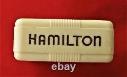 Excellent Hamilton 992b Railroad Pocket Watch Iwith Original Flip-top Box