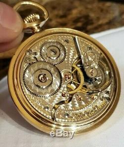 Fantastic 16s Hamilton 996 Railroad Pocket Watch