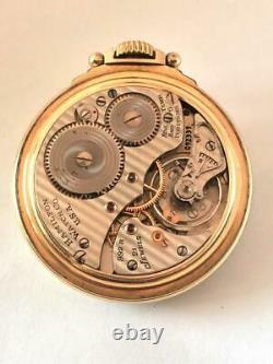 Fine Hamilton Railway Special With Double-sunk Dial 992b Movement