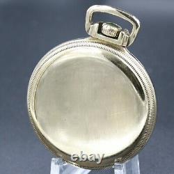 Gold 1916 Hamilton 21 Jewel RAILROAD Grade 992 Pocket Watch Large 16s Antique