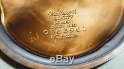 Hamilton 14 Karat Gold Filled Boc 992b 16 S Rr Grade 21j Adj 6 Pos