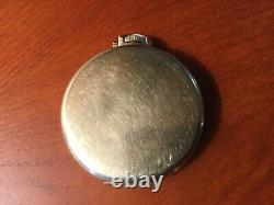 HAMILTON 17 jewels Adj 3 pos 917 POCKET WATCH 14K GF KEYSTONE CASE WORKING