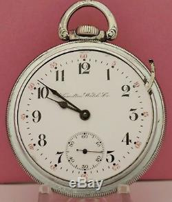 HAMILTON 18 Size 21Jewel 940 POCKET WATCH Fully Serviced June PERFECT TIME
