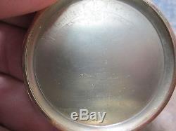 HAMILTON 19J 918 MOVEMENT FANCY 14K GOLD CASE SIZE 12 RUNNING Pocket Watch