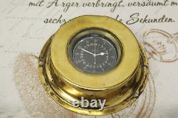 HAMILTON 4992B U. S. ARMY AIR CORPS Navigation Deck Watch Taschenuhr pocket watch