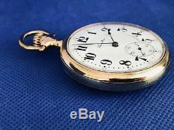 HAMILTON 992 Railroad Pocket Watch 21 Jewel SERVICED RUNS c1920