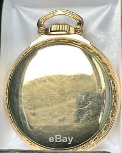 HAMILTON 992B 10k Gold Fld, Mdl 5, 21j. Made 1969, RR Grade, Xlnt! Lim. Qty. 0401k
