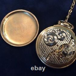 HAMILTON 992B 21J 16S Railway Special Pocket watch withExtras
