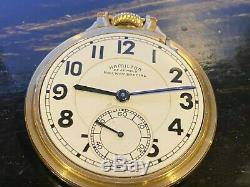 HAMILTON POCKET WATCH 23 JEWEL size 16 RAILWAY SPECIAL 10K GOLD FILLED