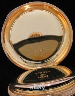 Hamilton 14K 16s Hunter Case Pocket Watch $1,250 Free Shipping