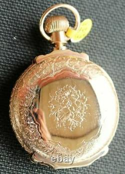 Hamilton 14K Solid Yellow Gold HC. 929 Pocket-Watch, Flawless Condition L@@K