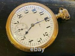 Hamilton 16-S Pocket Watch, 21 jewels, 992