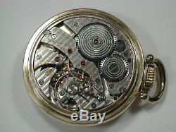 Hamilton 16 Size 23 Jewel Model 950B Railroad Pocket Watch. 85J