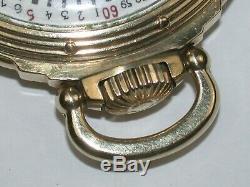 Hamilton 16 Size 23 Jewel Model 950B open face railroad Pocket Watch. 130A