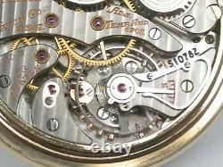 Hamilton 16 Size 23 Jewel Model 950B open face railroad Pocket Watch. 150F