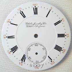 Hamilton 16 Size Globe Arizona Railroad Watch Inspector Marked Pocket Watch Dial
