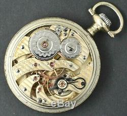 Hamilton 16S 23 Jewel Grade 950 Railroad Pocket Watch RUNS