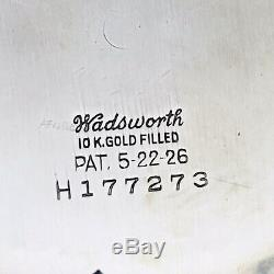Hamilton 16S Wadsworth BOC Bar Over Crown MODEL 2 Railroad POCKET WATCH CASE #1