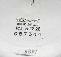 Hamilton 16S Wadsworth BOC Bar Over Crown MODEL 8 Railroad POCKET WATCH CASE #2