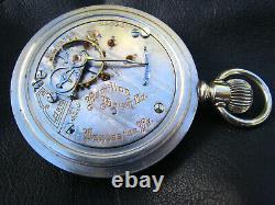 Hamilton 18S 21 Jewel Pocket Watch Grade 941 Locomotive on Case Back Running