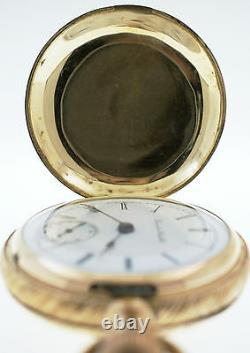 Hamilton 18s 15j Grade 929 Model 2 GF Sidewinder Full Hunter Pocket Watch 1899