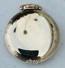 Hamilton 1954 Model 5 Grade 992B 16s 21J OF GF RR Pocket Watch-Serviced