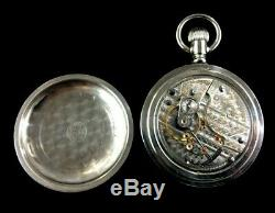 Hamilton 21 Jewel 18 Size 940 Massive Railroad Pocket watch Near Mint Condition