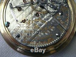 Hamilton 21 Jewel Pocket Watch -940-5 Position-works Perfectly