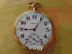 Hamilton 21 Jewel Pocket Watch 992 Railroad 16 Size Of