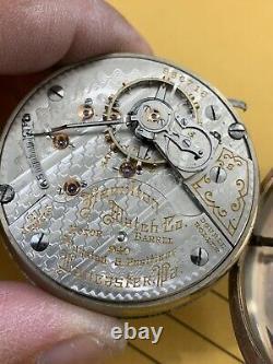 Hamilton 21 Jewels, 940 pocket watch, working, 18S. 25 Years Warranty