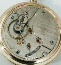 Hamilton 21 jewel 18S. Grade 940 Rare private label C. S. Poole. Joplin, Mo. G. F