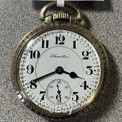 Hamilton 21J Model #992 Pocket Watch