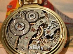 Hamilton 23 Jewel 950E Marked Elinvar 16 Size Pocketwatch