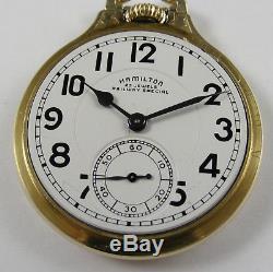 Hamilton 23 Jewel Railway Special Nice 950B Pocketwatch