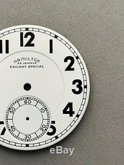 Hamilton 23 Jewels Railway Special 950b 950e Original Porcelain Dial Buy It Now