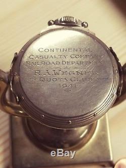 Hamilton 23 jewel Railway Special 950b 16s pocket watch. With original stand