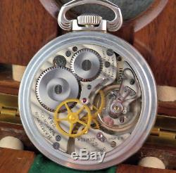 Hamilton 3992B British & Canadian Navigation Master in. 800 Fine Silver Case