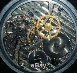 Hamilton 4492B 22 Jewel 24 hour Military dial pocket watch