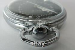 Hamilton 4992B GCT Military 24 hour dial Pocket Watch, Base Metal Case, 22j, 16s