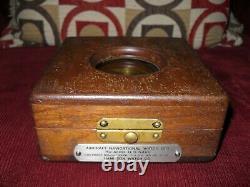 Hamilton 4992B. In Original Wooden Box, WWII Amazing Historical Timepiece L@@K