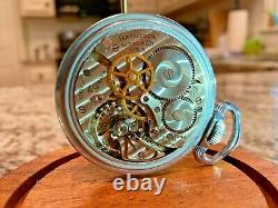 Hamilton 4992B Military GCT 24 Hr 22 Jewel Pocket Watch