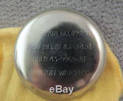 Hamilton 4992B Navagation Master in original type box