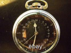 Hamilton 4992B. Navigation Watch, 24 Hour, Very Nice Timepiece, L@@K