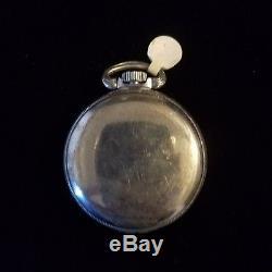 Hamilton 4992B U. S. Gov't rare antique pocket watch