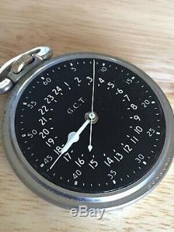 Hamilton 4992b military GCT pocket watch stunning