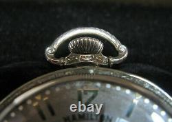 Hamilton 912 12s Pocket Watch in original box 14K gold filled case