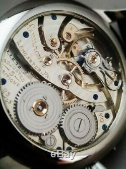 Hamilton 922 Wristwatch. 23 jewels. Swiss pocket watch movement conversion