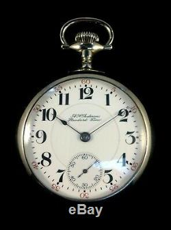 Hamilton 926 17J 18s Railroad Pocket watch RarerAnderson Dial Extra Fine