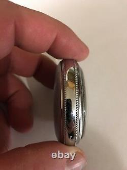 Hamilton 936 Railroad Pocket Watch. 18s 17 Jewel. Working condition. Circa 1910